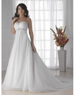 luxusní antické svatební šaty Aline na zakázku