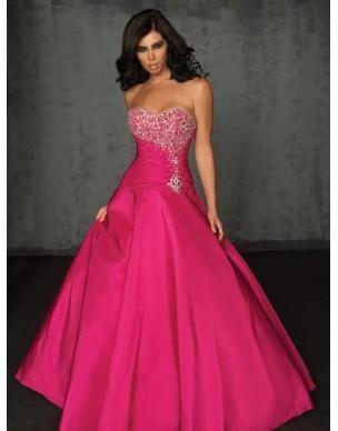 luxusní plesové růžové šaty na maturitní ples Pinky M-L