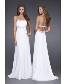 jednoduché krémové antické svatební společenské šaty Emilia S-M