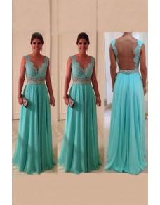 tyrkysové modré plesové společenské krajkované šaty Debra M