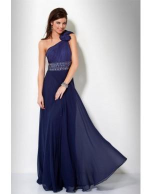 tmavě modré plesové společenské šaty Arnica M