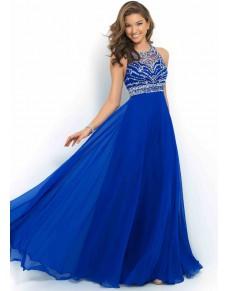 námořnicky modré plesové společenské šaty na maturitní ples Drusila XXS-XS