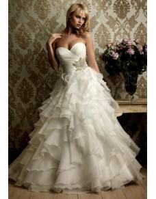 krémové princeznovské svatební šaty Dorothy XS-S